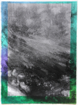 Weg (2020) / charcoal and pastel on paper / 39 cm x 29 cm
